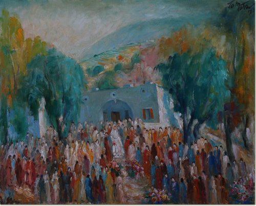 Marriage in Kfarsama - Noce à Kfarsama