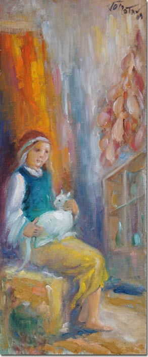 Stephanie and the White Cat - Stephanie et le Chat Blanc