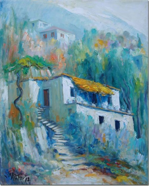 Ascent under the Vine - Montée sous la Vigne