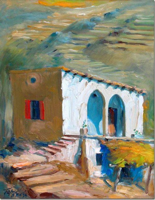 Dwelling in the Lebanese Mountain