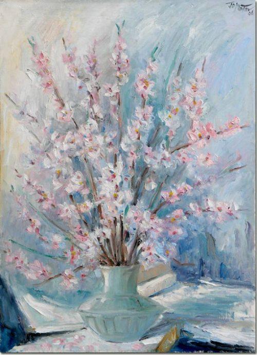 Almond Blossom painting