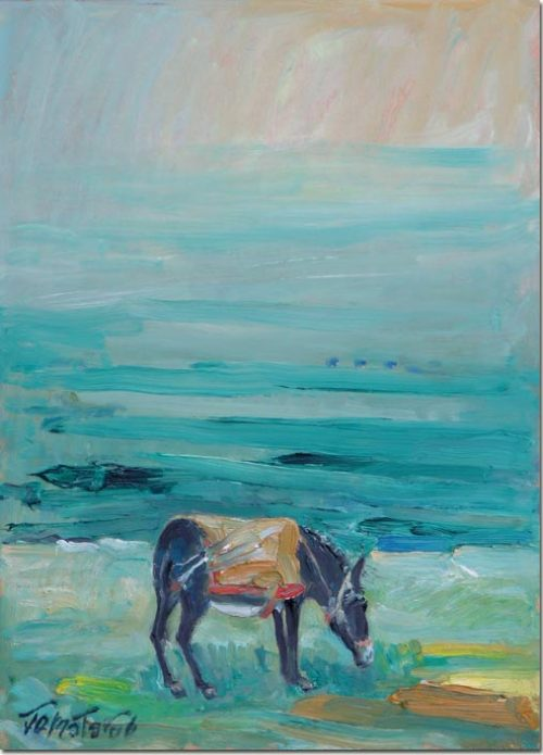 Painting The Donkey Loose