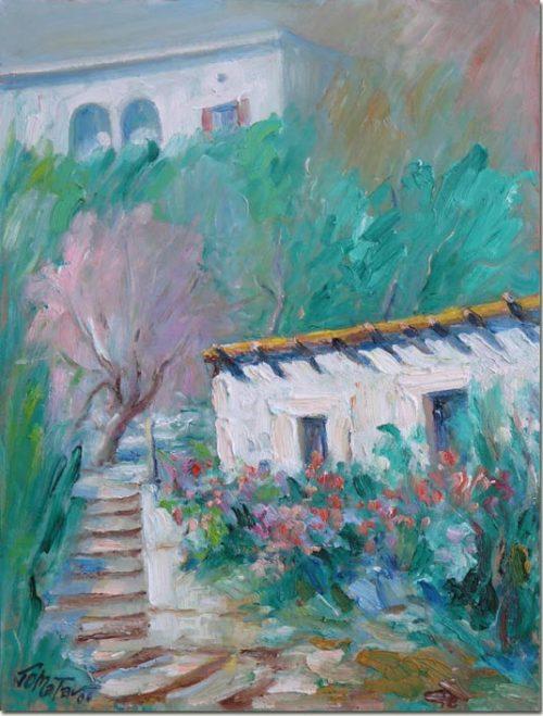 Painting: A Quiet Spot