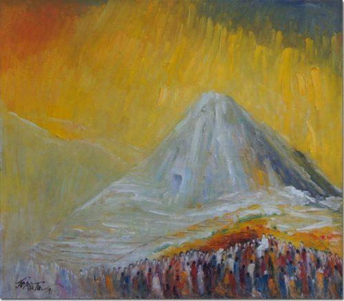 Pray in the Mount Hermon - Prière du l'Hermon