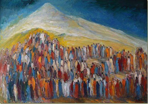 Facing Mount Hermon - Face à l'Hermon
