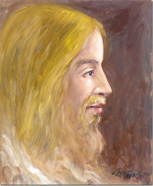 Portrait of Jesus-Christ - Portrait de Christ