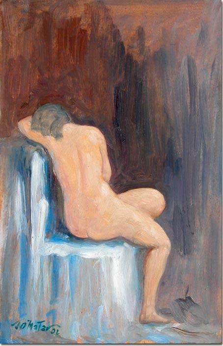 Lebanon art painting - Stephanie - Peinture