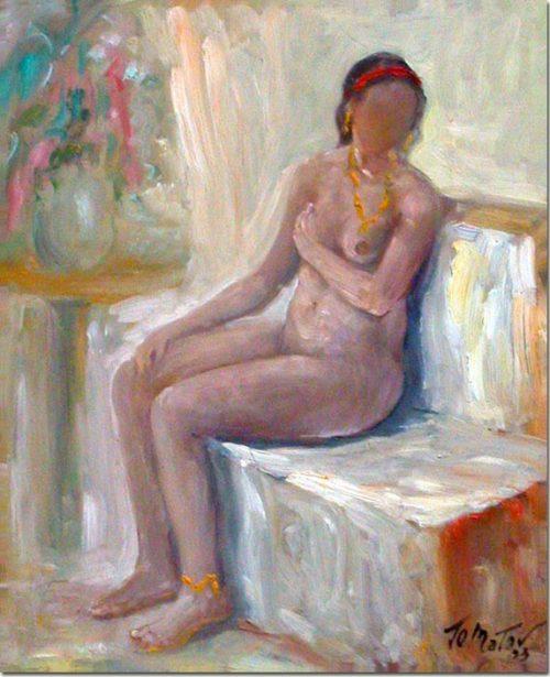Art - Waiting - Attente