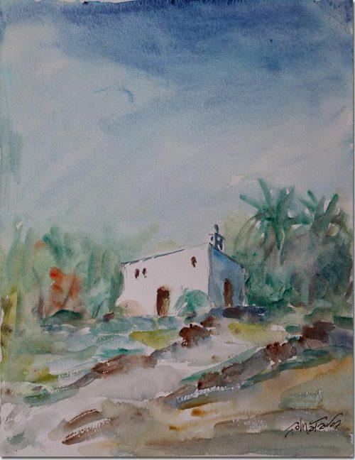 Saint Georges in the Village of Edde - Saint Georges au Village de Eddé