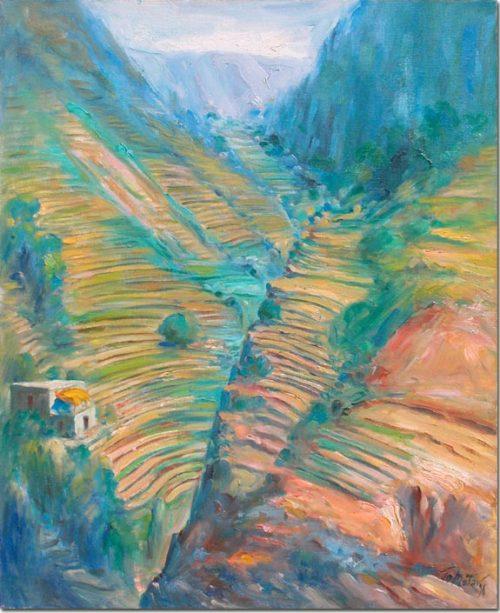Valley of Qadicha - Vallée de Qadicha