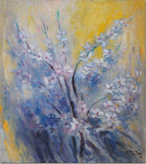 Blue Flowers - Fleurs en Bleues
