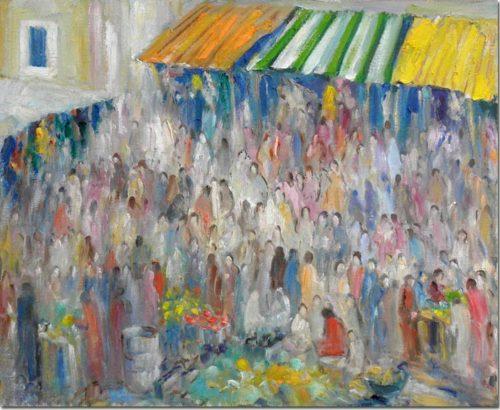 Market in Byblos - Marché à Byblos