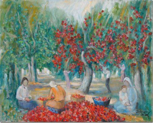 Picking Apples - Cueillette de Pommes