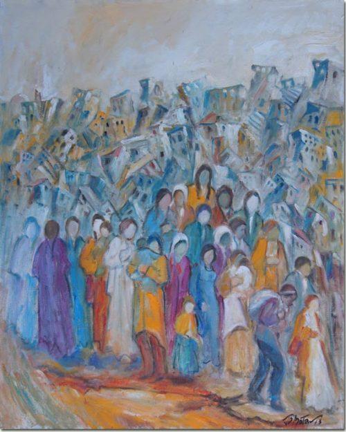 Art Painting Displaced - Déplacé