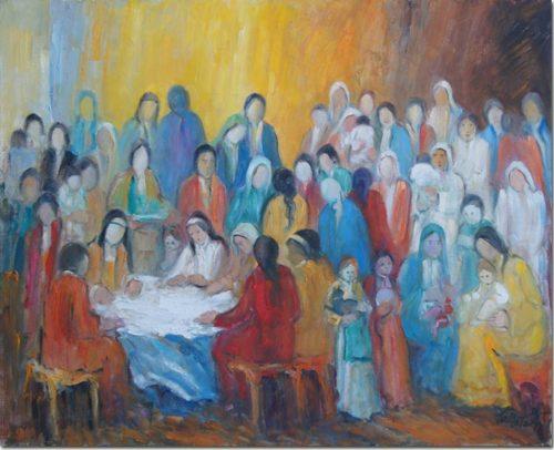 Meeting in the Village - Réunion au Village