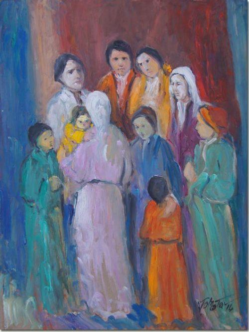 Art - With the Family - En Famille
