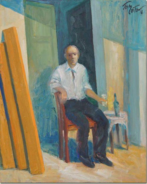 Lebanon art painting - Repose - Repos