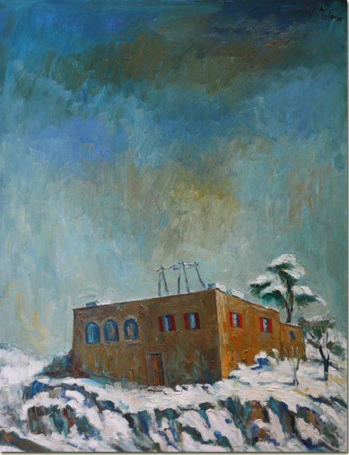 Snow on Mayfouq - Neige à Mayfouq