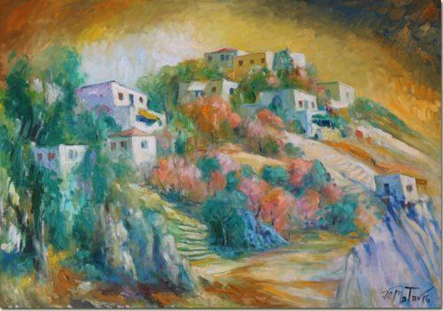 Homes and Cliffs - Maisons et Falaises