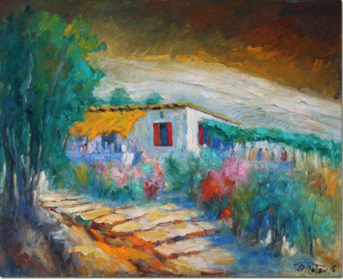 Under the Vine of Mrouj - Sous la Vigne à Mrouj