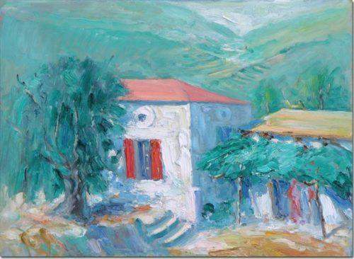 A Sunny Corner in Amchit