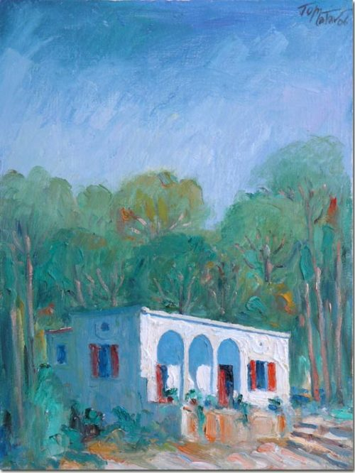 Painting: Nostalgia at Kaslik