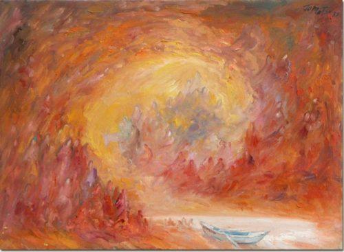 Art painting - Evasion - Peinture