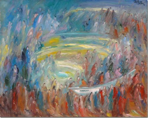 Art painting - Evengelica - Peinture