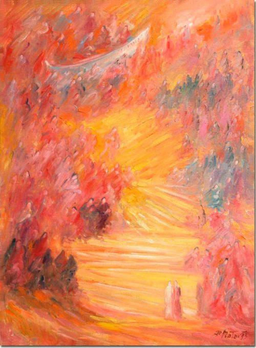 Art painting - Béatrice - Peinture
