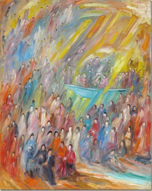 Art painting - Tiberia - Peinture