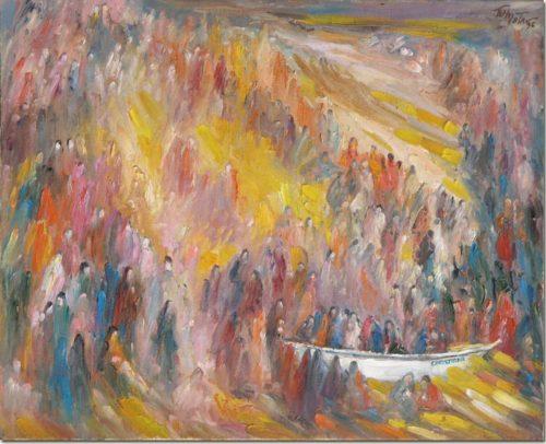 Art painting - Christiana - Peinture