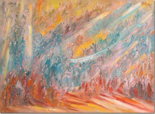 Art painting - Lumena 3 x 4 = 12 - Peinture