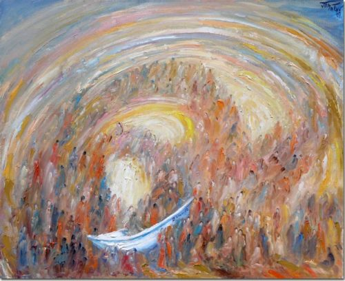 Art painting - Dominina - Peinture