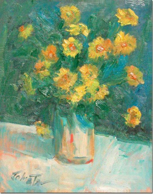 Yellow flowers - Fleurs jaunes