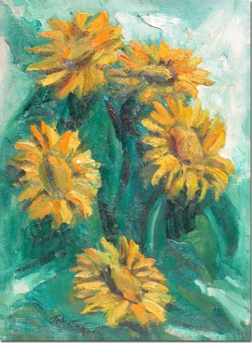 Sunflowers - Les Tournessols