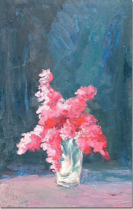 Art painting - Bouquet - Peinture
