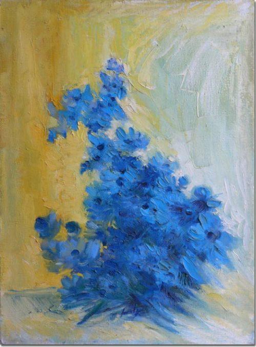 Cornflowers of Tannourine - Bleuet de Tannourine