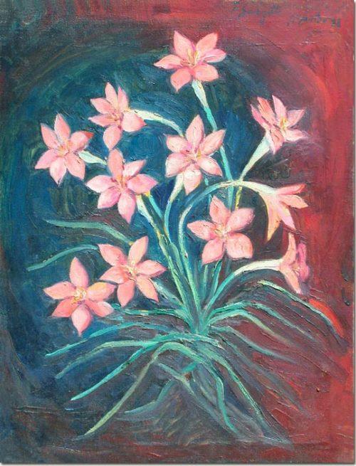 Bouquet of Iris - Bouquet d'iris