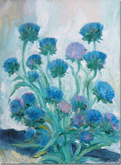 Flowered Artichokes - Les artichauts fleuris