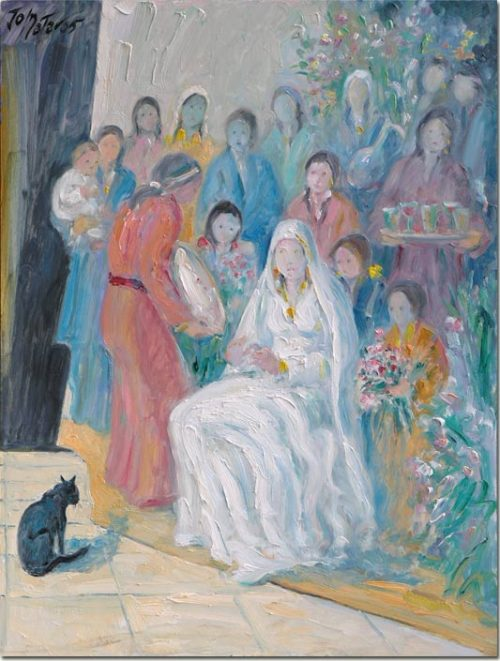 The Cat at the Wedding - Le Chat au Mariage