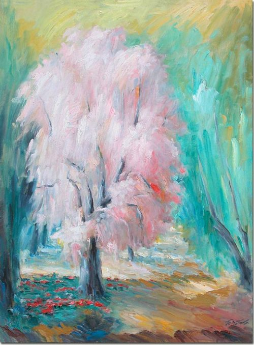 Almond Tree - L'amandier