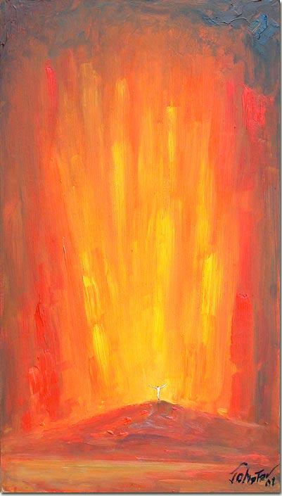 The outpouring of Light - Jaillissement de la Lumière