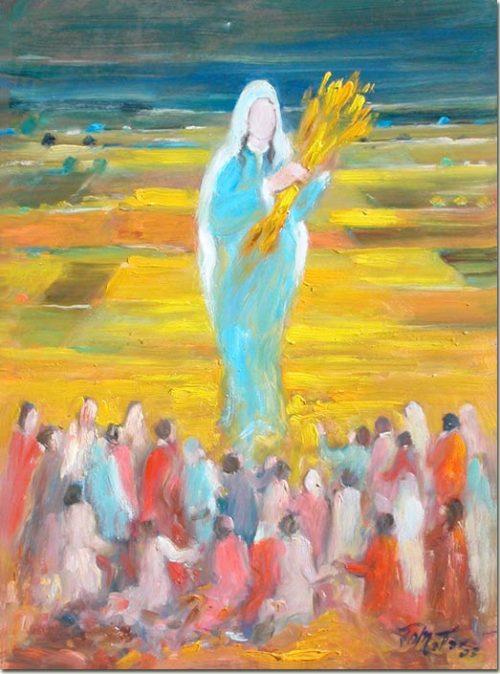 Virgin of the Harvest - Vierge de la Moisson