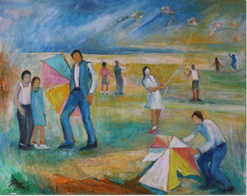 Lebanon art painting - Play - Jeux