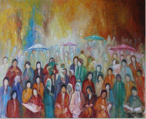 Umbrellas in Sidon - Parapluies à Sidon
