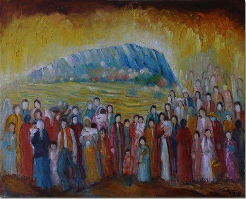 Under the Shade of the Cliff - A l'Ombre de la Falaise
