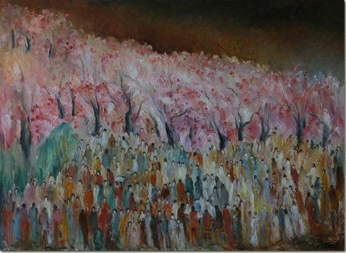 Cherry Trees in Tokyo - Cerisiers à Tokyo