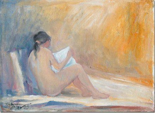 Lebanon art - Reading - Lecture