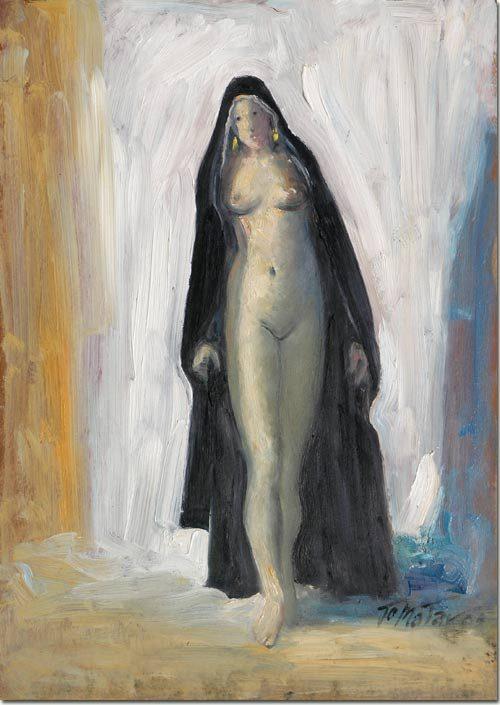 Nude in Black Veil - Nue en Noir