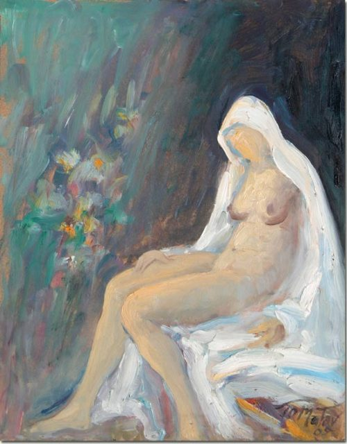 Art painting - Rosette - Peinture